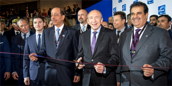 Inauguration Milipol Paris 2015