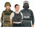 Gilets pour police, l'armée et forces speciales