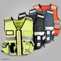 Gilet fluo SECURITE multipoches