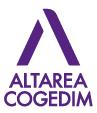 Logo de notre partenaire Altarea Cogedim