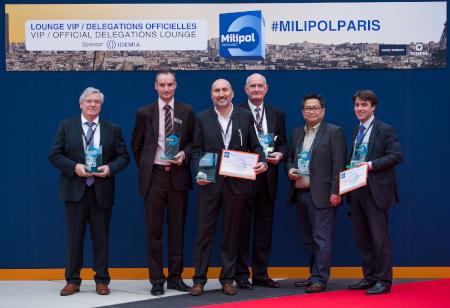 Cérémonie des Milipol Innovation Awards 2017