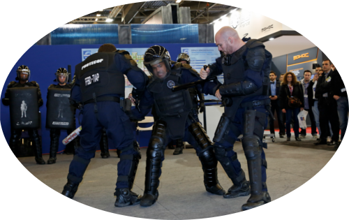 Zone de démonstrations exposants - Milipol Paris 2015