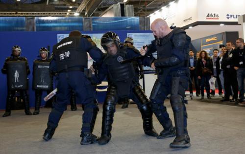 Zone de démonstrations exposants - Milipol Paris 2015