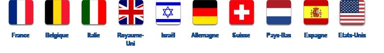 Nationalités visiteurs