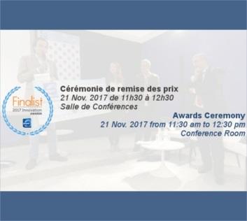 Les finalistes des Milipol Innovation Awards sont...