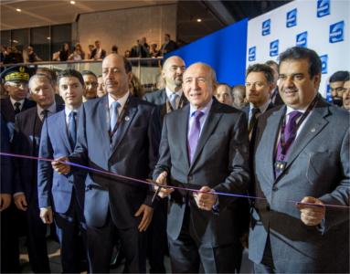 Inauguration Milipol Paris 2017