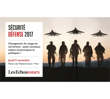 Conférence Les Echos - Défense Sécurité