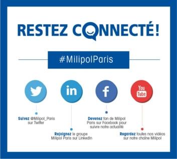 Réseaux sociaux #MilipolParis
