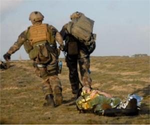 EMD, formation sauvetage au combat