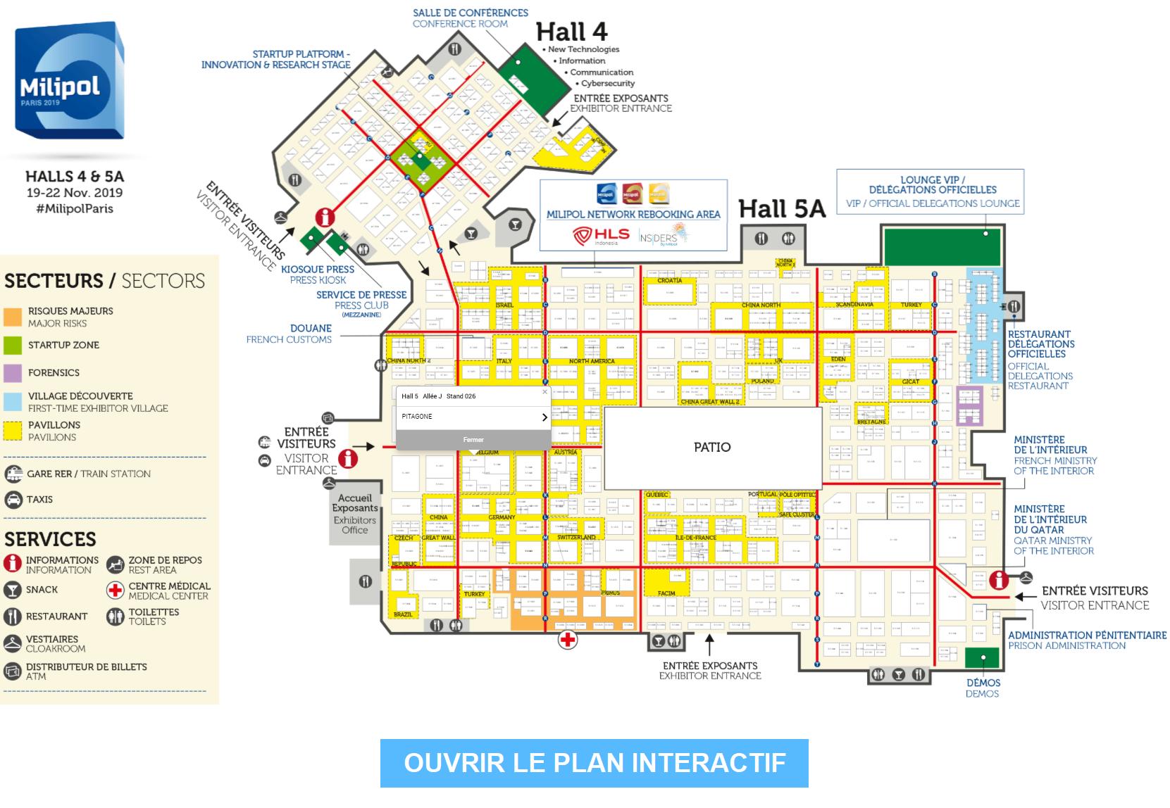 Plan interactif 2019