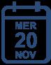 Programme mercredi 20 novembre