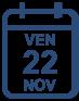 Programme vendredi 22 novembre